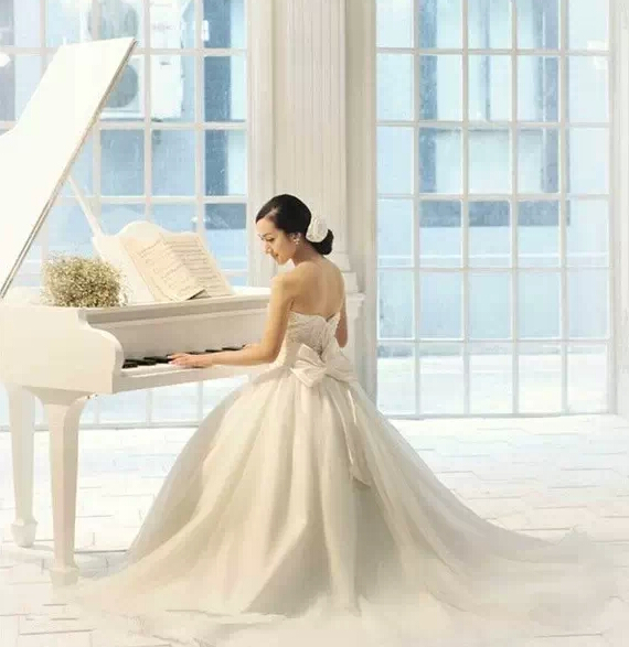 一场梦幻唯美的钢琴主题婚礼!